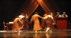 6 współczesnego tańca Fotografia Royalty Free