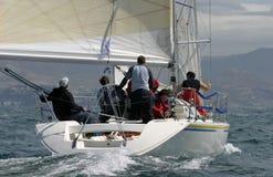 6 wypływa jachting Obrazy Royalty Free