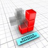 6 zarządzania rozkład Zdjęcie Stock