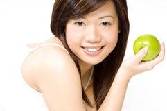 6 zdrowa dziewczyna Zdjęcia Stock