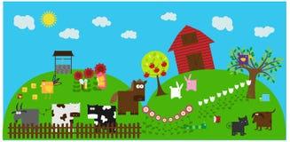 6 zwierzę ilustracji