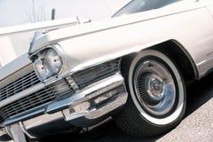 60年代初期的葡萄酒美国汽车 免版税库存图片