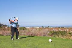60高尔夫球运动员 图库摄影