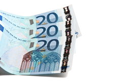 60 euros Royaltyfri Fotografi