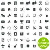 60 icone creative importanti di affari Fotografie Stock Libere da Diritti