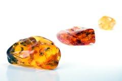 60 milione anni dell'ambra baltica Fotografie Stock Libere da Diritti