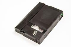 60 min mini DV. A mini DV video tape isolated on white Stock Photography