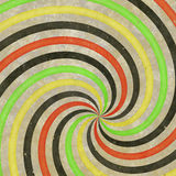 60's 70's Retro Swirl Funky Wild Spiral Rays Royalty Free Stock Photo