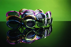 60's party sunshades Royalty Free Stock Images