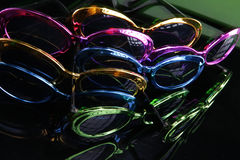 60's party sunshades Stock Photo