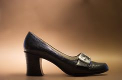 60's shoe. Women's shoe from the 60s Stock Images