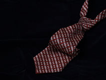 60´s style necktie. Brown 1960´s retro style  necktie Stock Image