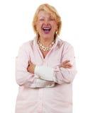 60+ senior healthy and happy Stock Image