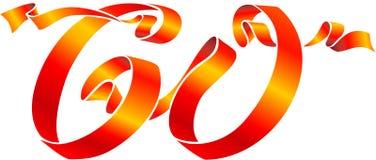60 wstążki Fotografia Royalty Free