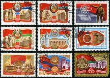 60 years of Soviet Socialist Republics Royalty Free Stock Images