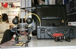 600受控RB远程地水下的通信工具 免版税库存照片