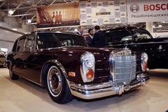 600 1971 benz mercedes w100 Arkivfoto