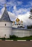 600 jaar van oude Momastery in Rusland Royalty-vrije Stock Foto's