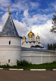 600 Years old Momastery in Russia Royalty Free Stock Photos