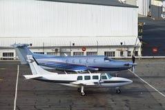 600a aerostar αυλητής pilatus PC 12 45 Στοκ εικόνα με δικαίωμα ελεύθερης χρήσης