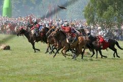 600th周年纪念争斗grunwald 免版税图库摄影