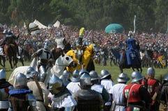 600th Aniversário da batalha de Grunwald Fotografia de Stock Royalty Free