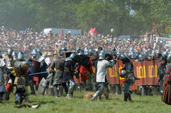600th Anniversario della battaglia di Grunwald Fotografia Stock Libera da Diritti