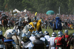 600th Anniversary of Battle of Grunwald Royalty Free Stock Photography