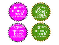 60daysmoney返回 免版税库存图片