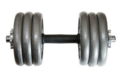 60lb adjustable dumbbell Royalty Free Stock Photos