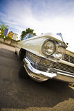 60s american classic limousine Στοκ Εικόνες
