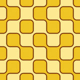 60s background. Old-fashioned retro background - 60s style. Seamless tile Stock Image