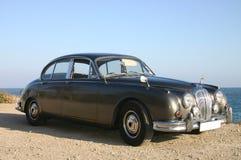 60s brązowy samochodowy rodzinny luksus Obrazy Stock