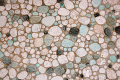 60s style tiles. Background of 60s style crazy tiles Stock Photo