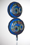 60th birthday party helium balloons Stock Images