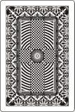 60x90 подпирают карточку mm играя сторону Стоковые Фотографии RF