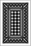 60x90 bak den leka sidan för kortmillimeter Royaltyfri Bild
