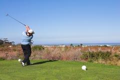 61 игрок в гольф Стоковые Фотографии RF