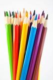61 befläckte blyertspennor Royaltyfri Foto