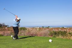 61 golfare royaltyfria foton