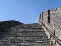 Великая Китайская Стена 6279 фарфоров Стоковые Фото