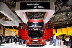 62nd IAA Commercial Vehicles Fair Stock Images