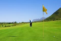 63高尔夫球运动员 库存照片