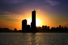 63 Building. Skyscraper in Seoul, Korea, the biggest building in City royalty free stock image