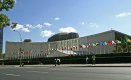 63rd генералитет агрегата раскрывает ООН встречи Стоковое Изображение