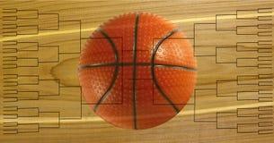 64篮球托架的比赛 库存图片