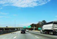 64 de um estado a outro de viagem em Virgínia Fotografia de Stock Royalty Free