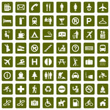 64 different pictograms green