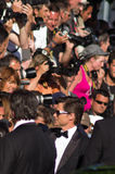 64th årliga cannes festivalfilm Royaltyfri Bild