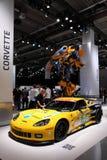 64th Chevrolet Corvette iaa zr1 fotografering för bildbyråer